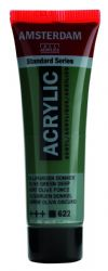 Amsterdam Standard Series Art Acrylic Paint Small Size tube 20 ml - Olive Green Deep